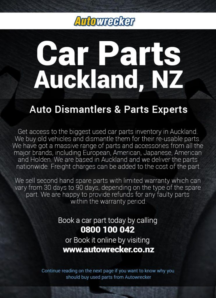 Get the cheap car part in Auckland, NZ. We deliver the parts NZ ...