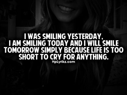 Keep Smiling Life Is Too Shirt To Cry For Anything Keep Smiling Quotes Smile Quotes Inspiring Quotes About Life