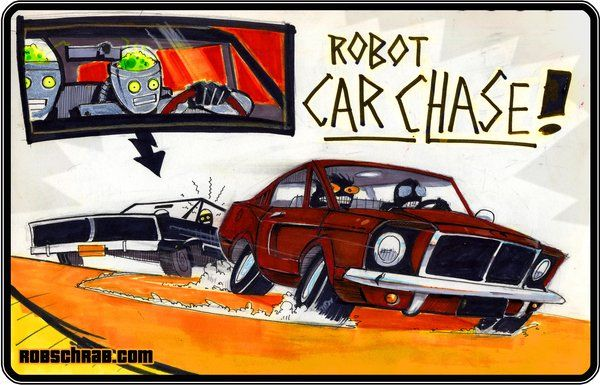 Google Image Result for http://turnstylenews.com/wp-content/uploads/2011/04/Robot_Car_Chase_by_Rob_Schrab.jpg