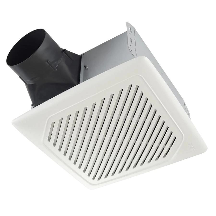 Broan InVent 1Sone 110CFM White Bathroom Fan ENERGY STAR