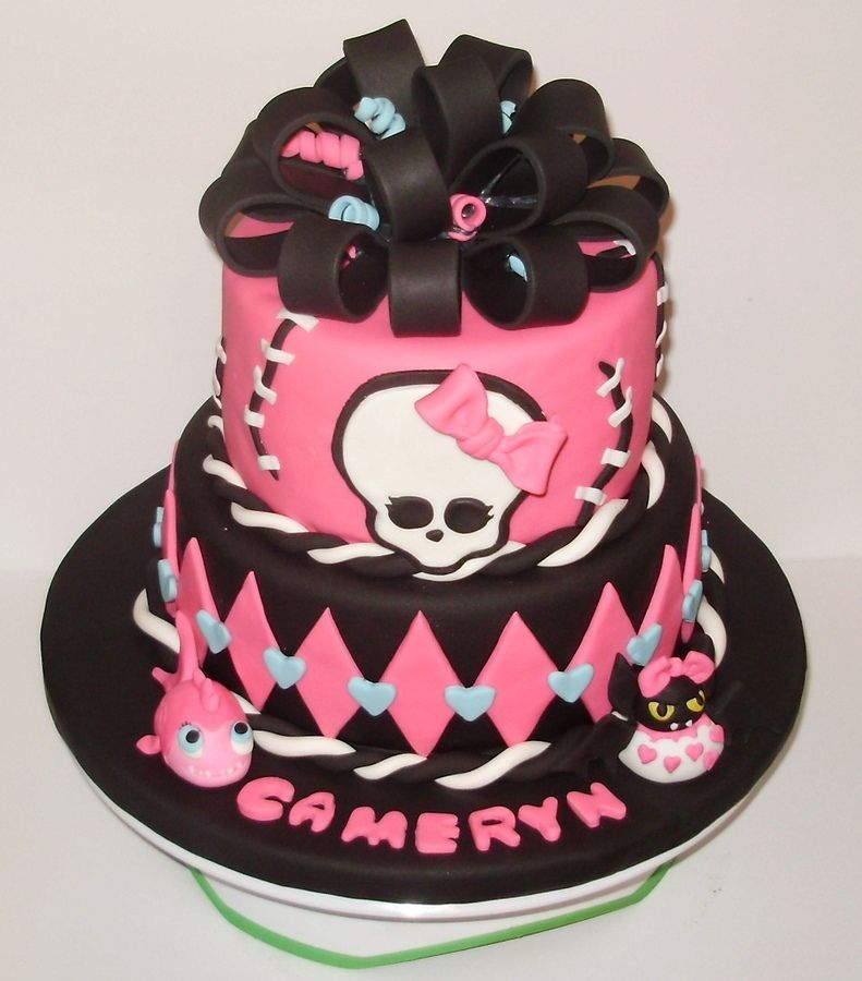 Monster High Cakes Monster High Monster High Themed Cake For A