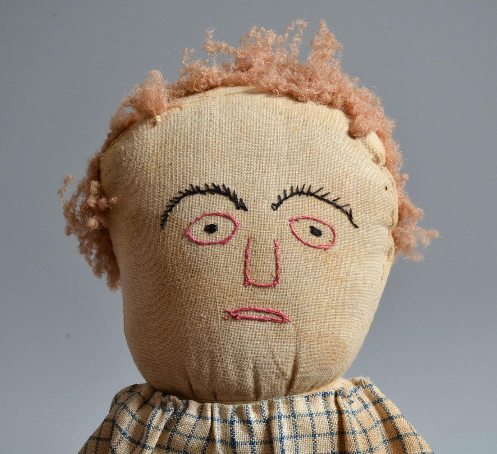 folk art rag doll (principio siglo XX)