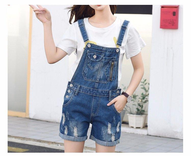 Luodemiss Big Girls Denim Jumpsuit Boyfriend Jeans Denim Romper Shortalls