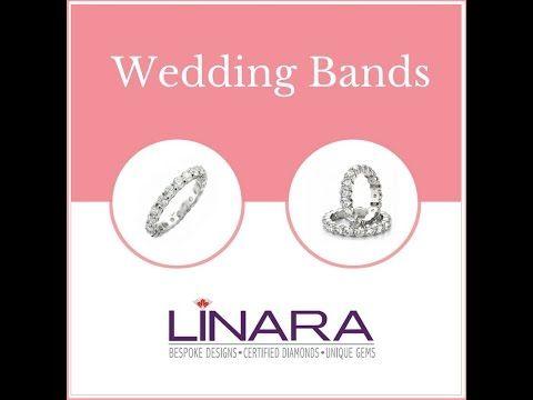 You imagine. We design. Check out Linara's Wedding Band Collection.