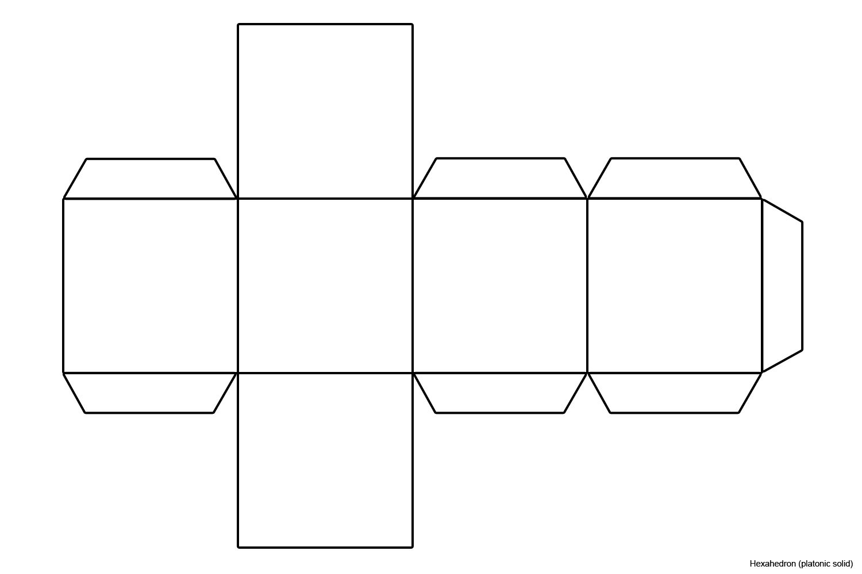 cube template - Google Search | Art class | Pinterest