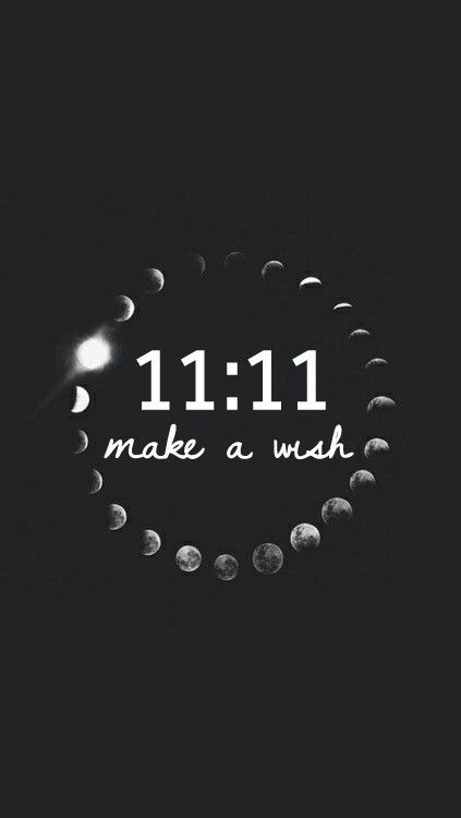 Imagen De 11 11 Wish And Moon Fondo De Pantalla Whatsapp