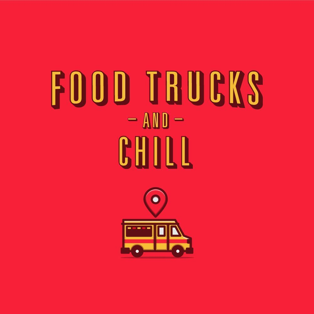 Food Trucks and Chill. Instagram flyer. #instagram #foodtruck #design #netflix #...#chill #design #flyer #food #foodtruck #instagram #netflix #trucks