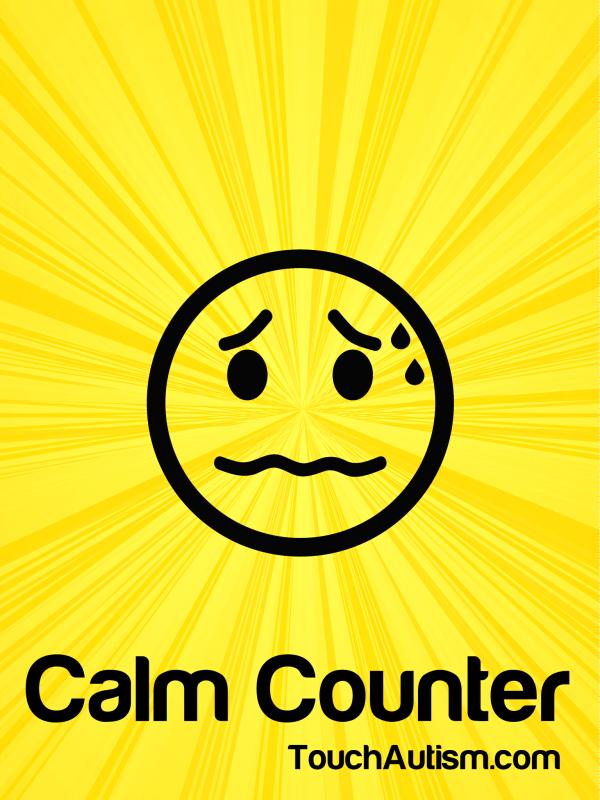 Calm Counter Apple logo, Apple inc, Calm
