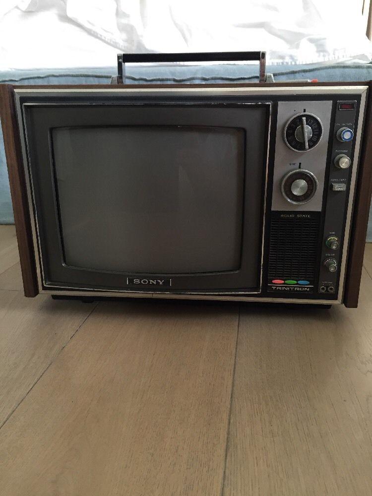 tv ebay. sony trinitron k1212 antique tv color tv ebay