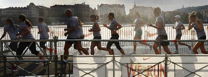 Salto antártico Honesto  Nike, We Run Prague 2013, #running #prague #rain #runner #nike #werunprague  #revoltapronike | Prague, Nike, We run