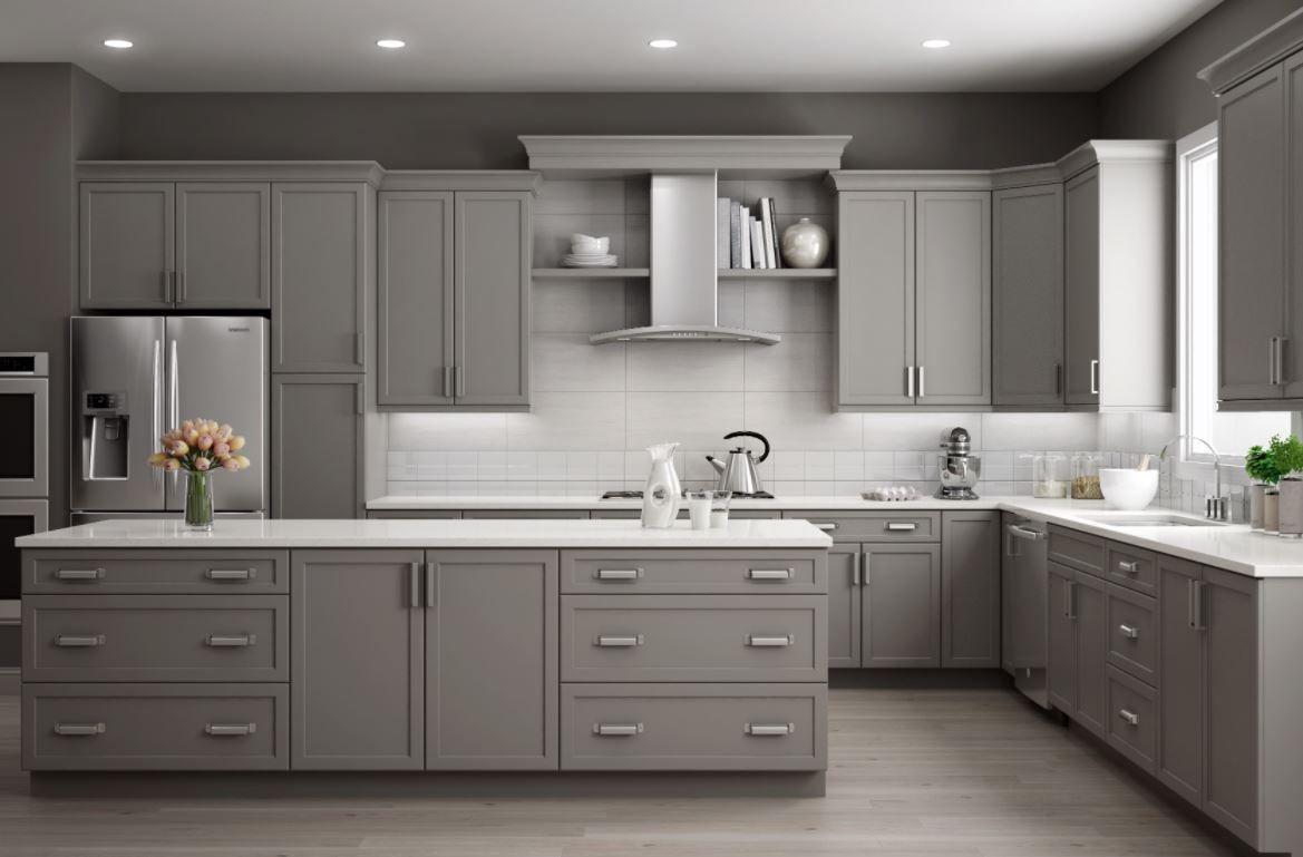 Thomasville Kitchen Cabinetry In 2020 Grey Kitchen Cabinets Kitchen Cabinets For Sale Grey Painted Kitchen