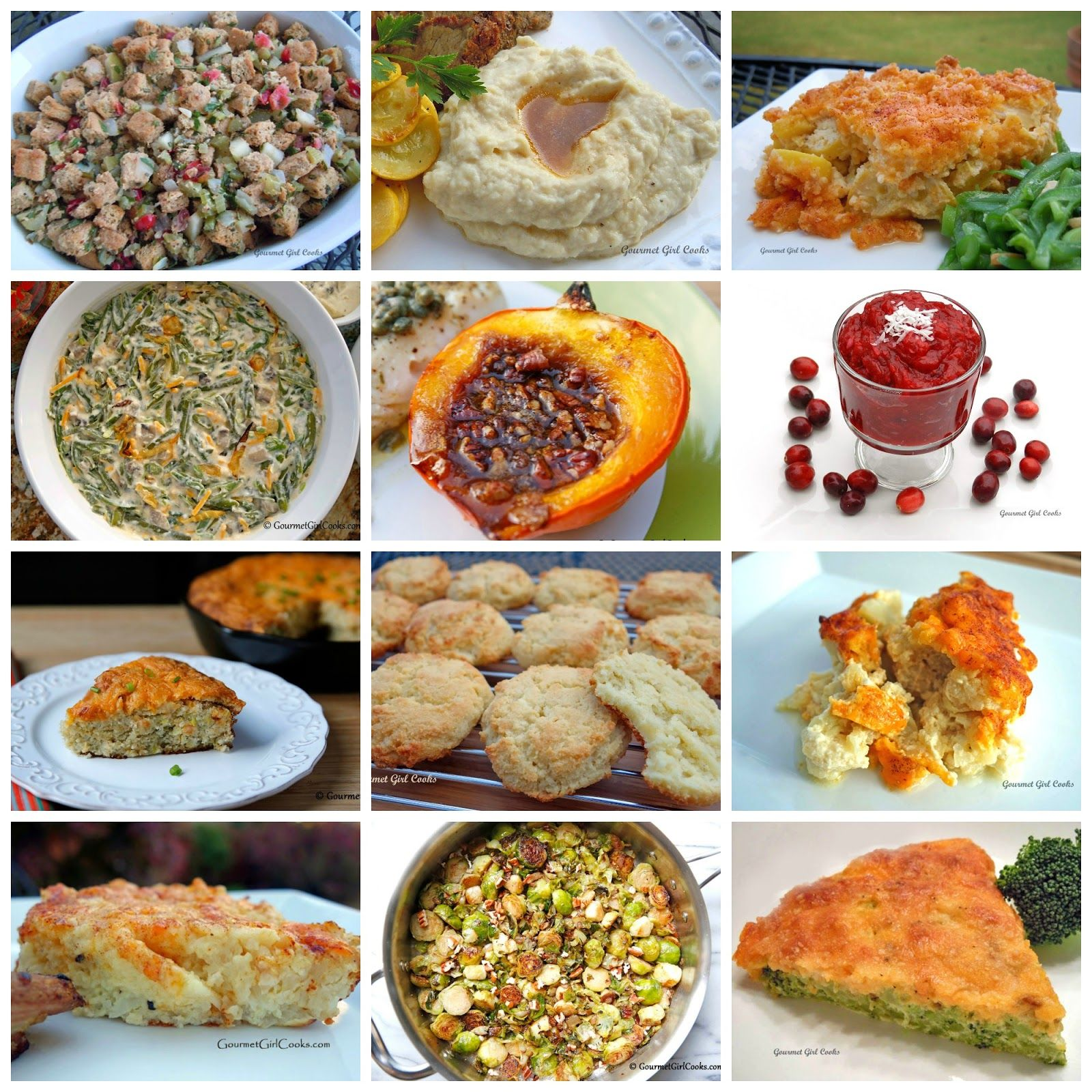 12 Thanksgiving Side Dish Recipes - Low Carb, Gluten Free ...