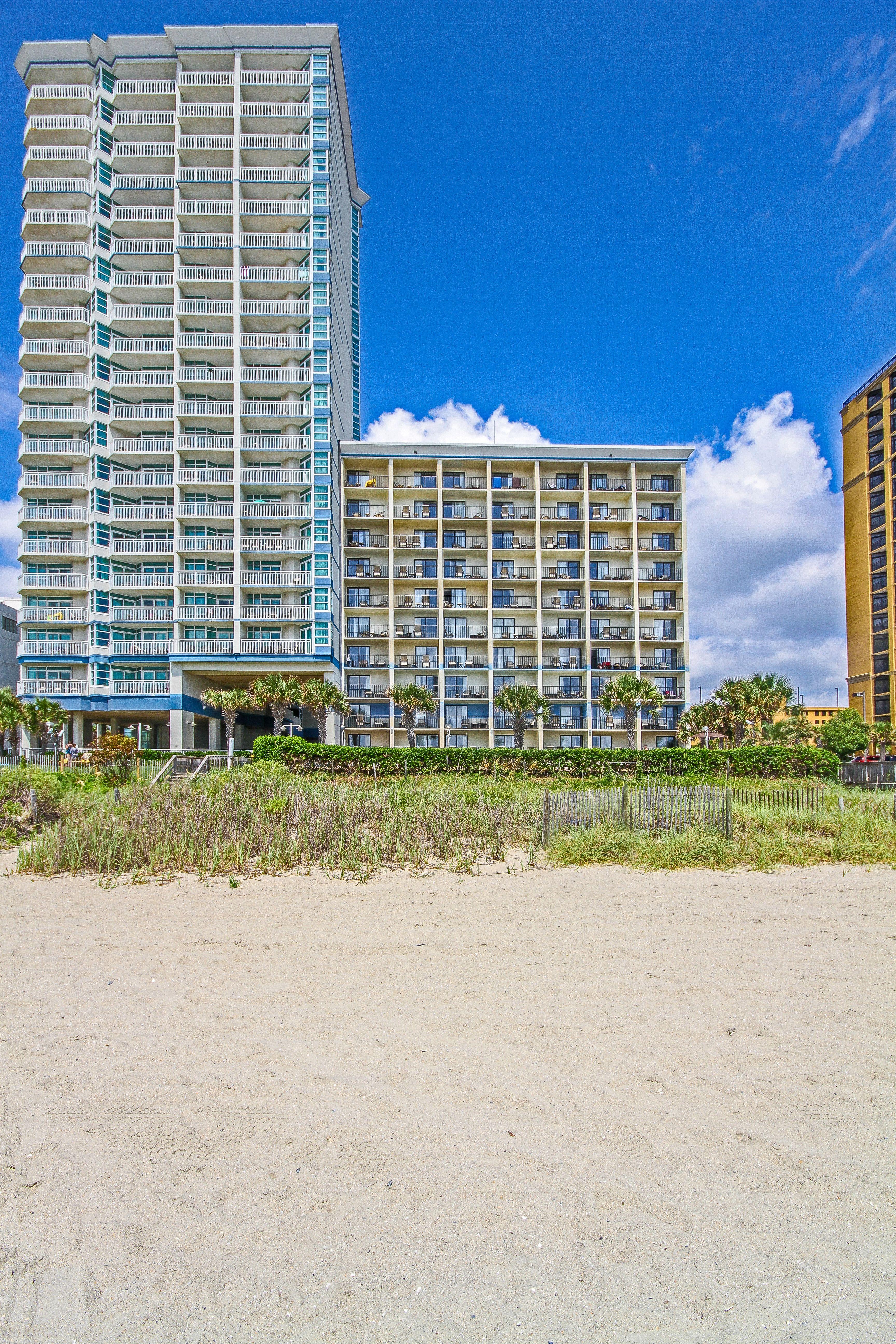 Beach view of Carolinian Beach Resort  Beach resorts