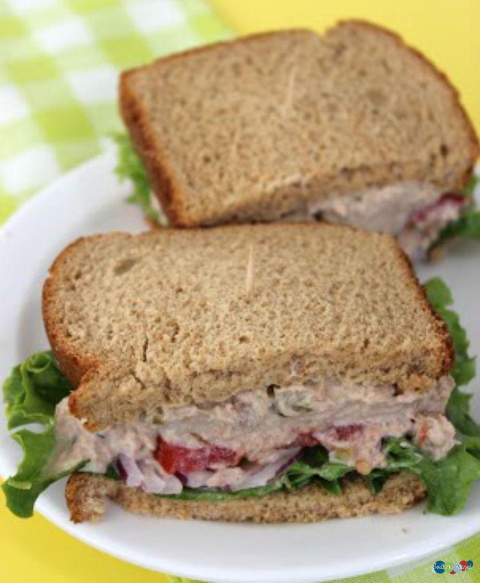 Copycat Panera Tuna Salad Sandwich with Delicious
