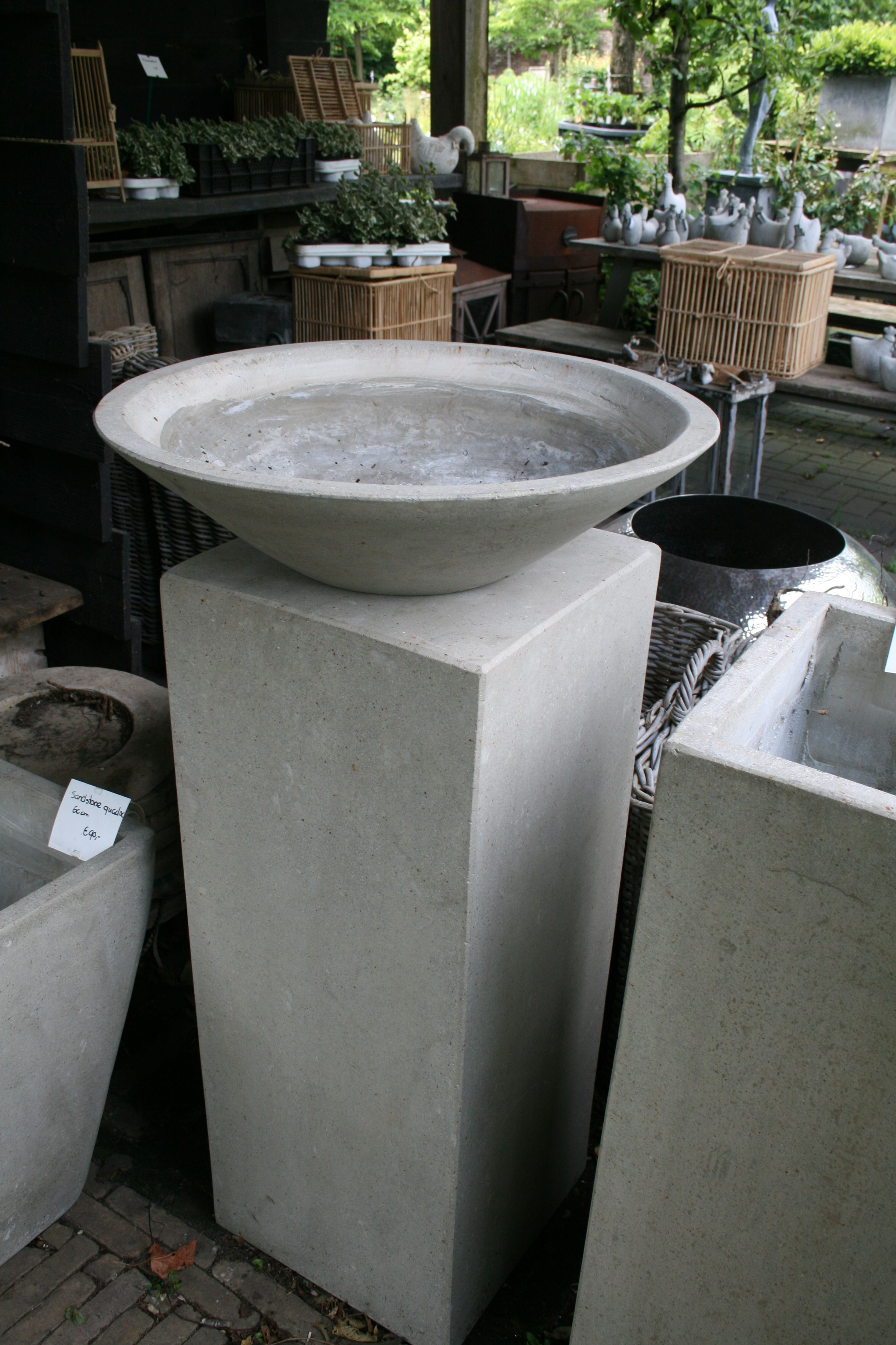 betonsockel & pflanzgefÄsse / gartenreise holland / belgien | beton