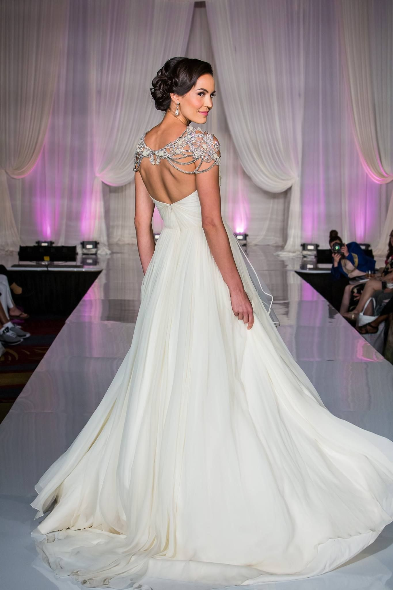 Hayley paige gowns at bridal expo chicago editorials pinterest