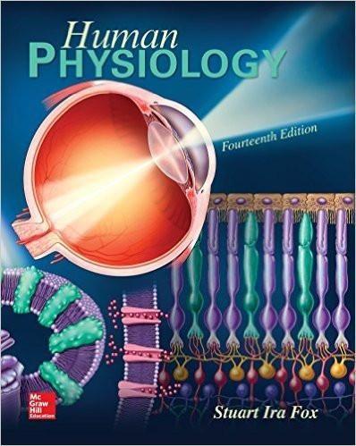 Human Physiology 14th Edition by Stuart Fox, ISBN-13: 978-0077836375 ...