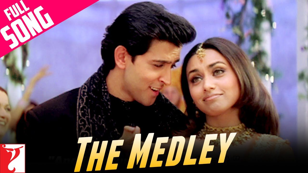 Medley Song Mujhse Dosti Karoge Hrithik Roshan Kareena Kapoor Rani Mukerji Uday Chopra Bollywood Movie Songs Songs Bollywood Music Videos