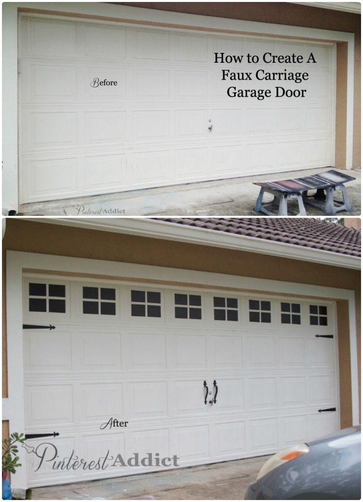 garage door before and after Donu0027t