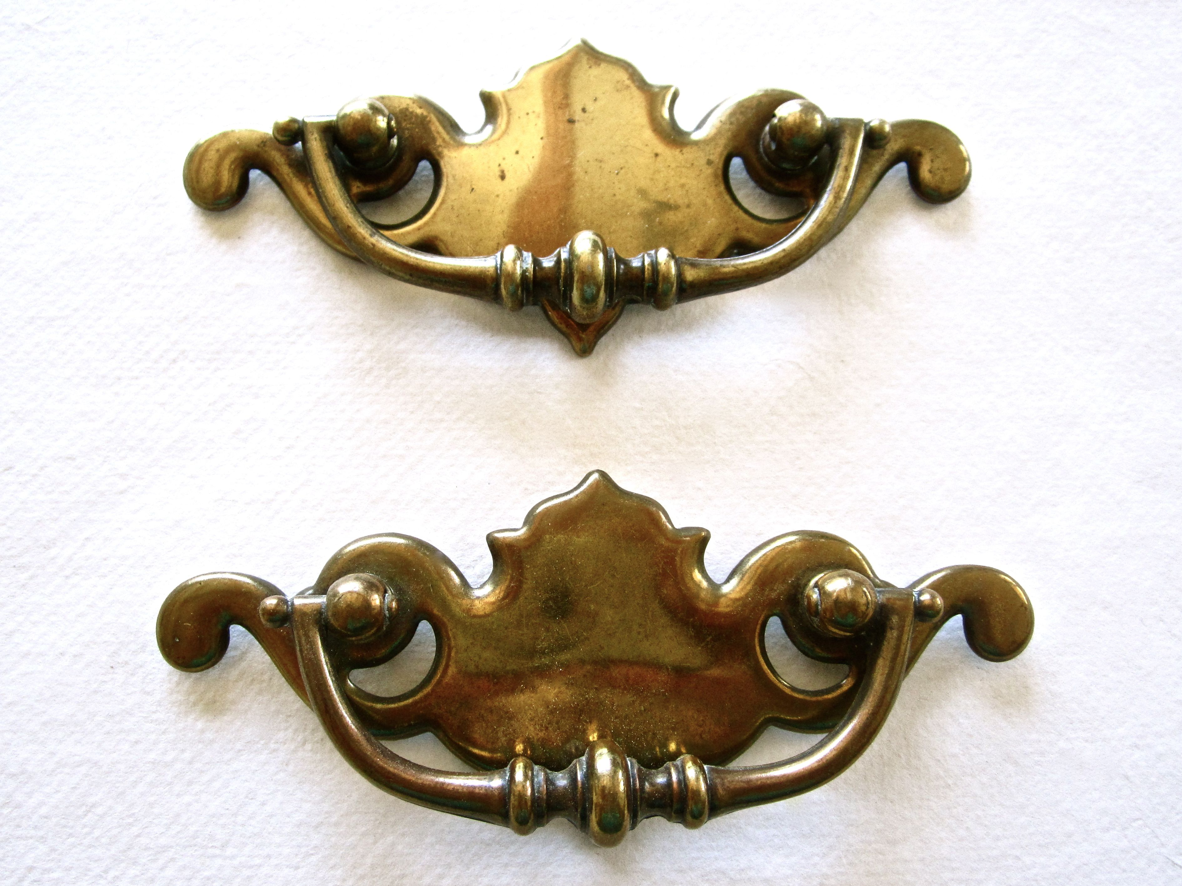 pulls antique or on cabinet of gliderite inch product handles orders free home shipping deco pack overstock brass over garden dresser