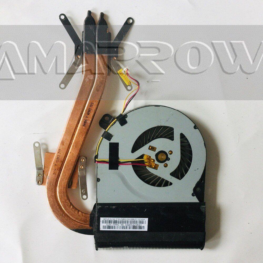 Original For Asus Laptop Heatsink Cooling Fan X550d K550d X750dp