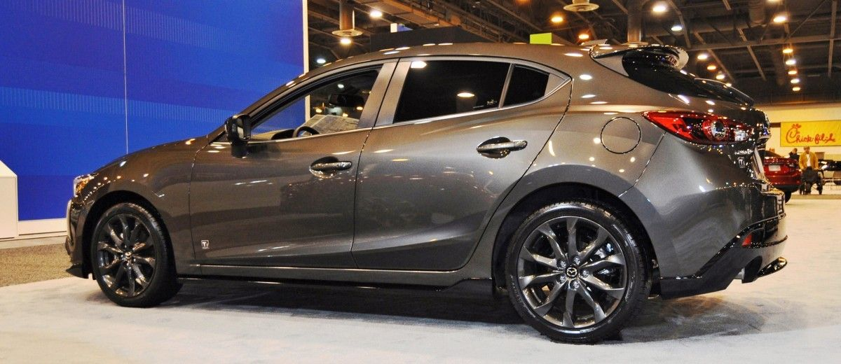 Houston Auto Show Debuts 2015 Mazda3 Ti Edition Rocks