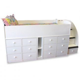The Captain S Bed With 12 Drawers Is The Ultimate Space Saving Solution The Drawers Can Be Bed With Drawers Underneath Bed With Drawers Twin Bed With Drawers