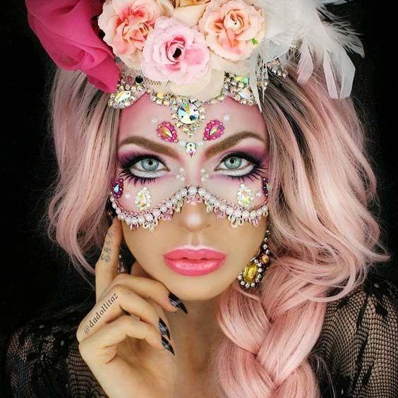 27 Spooktacular Halloween Makeup Ideas Maquillaje Halloween - Maquillaje-profesional-halloween