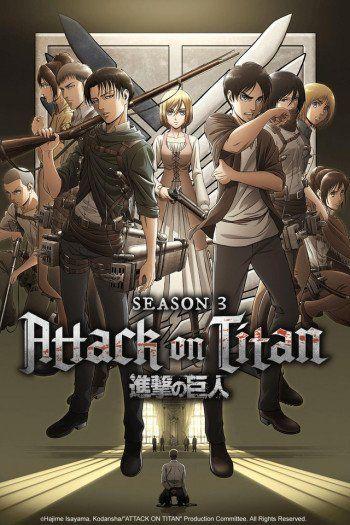 Attack on Titan 2013 ‧ Animation ‧ 3 seasons