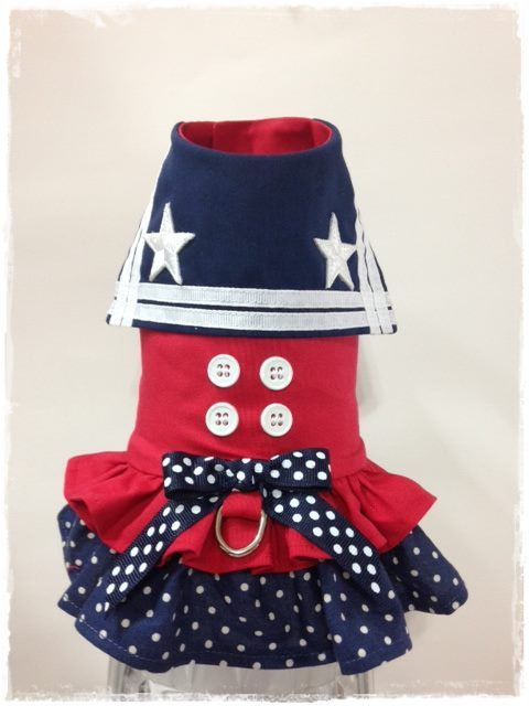 Custom order sailor harness by FourFootedFashions on Etsy