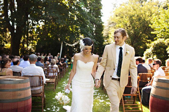 Volunteer Park Outdoor Wedding Ceremony Seattle