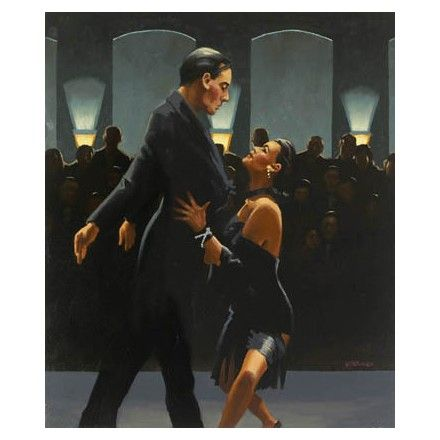 Jack Vettriano- Rumba in Black