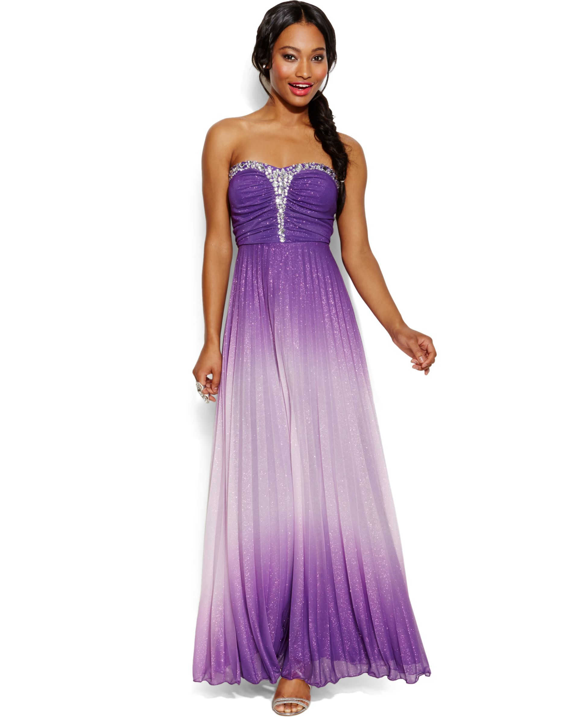 Speechless juniorsu glittered ombre gown products pinterest