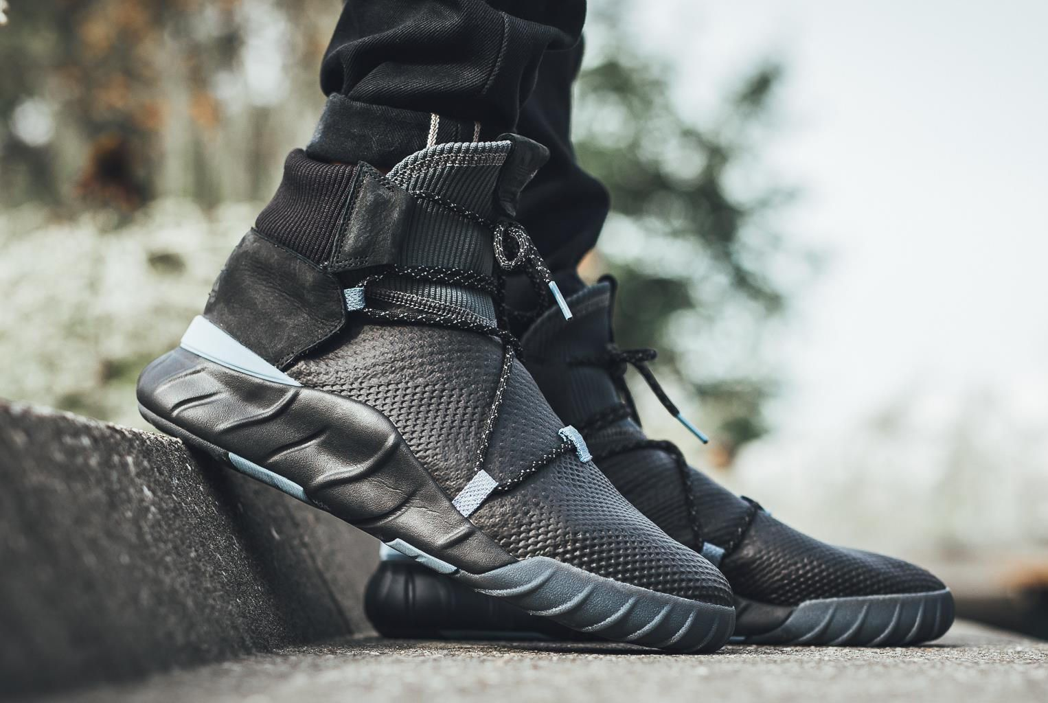 best sneakers d7326 fd2ab Core Black Coats The adidas Tubular X 2.0 Primeknit • KicksOnFire.com