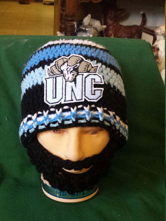 Tarheels University of North Carolina Bearded Beanie Tarheels #UNCTarheels #Tarheels #UniversityNorthCarolina #UNC #UniversityNorthCarlinaTarheels #Final2 #MarchMadness #NCAAFinals #DWedgeCreations #Etsy  #BeardedBeanie  #Basketball http://etsy.me/2ov2tGX via @Etsy