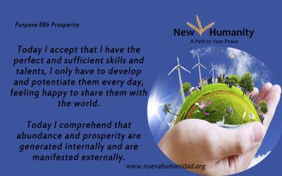 Purpose 886 Prosperity