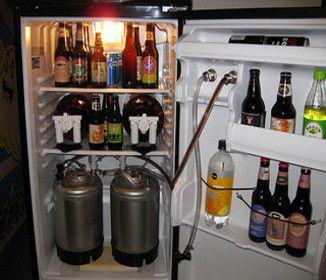 Office Beer Fridge Beer fridge, Home decor, Wine rack