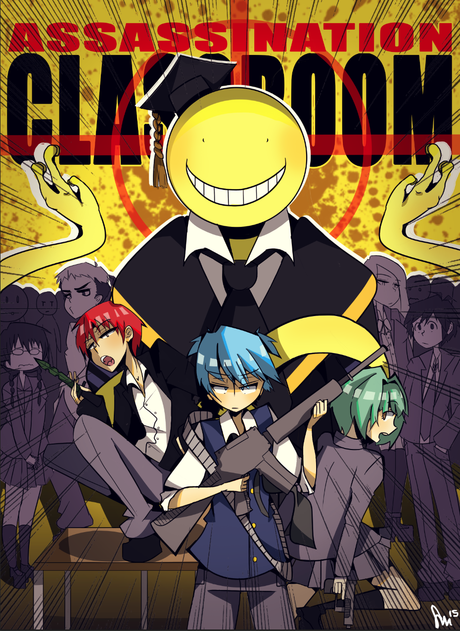 Assassination Classroom By Misydentify On Deviantart Assassination Classroom Assasination Classroom Assassin