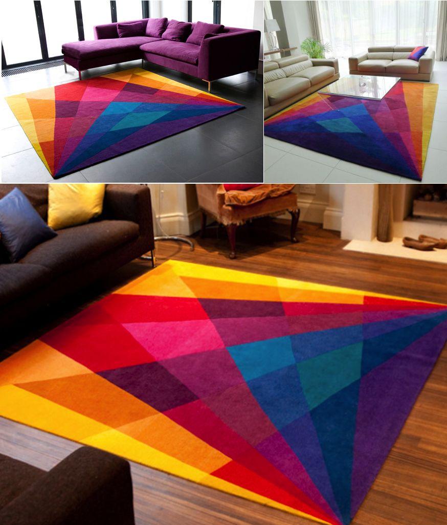 Sonya winner rainbow rug my place pinterest - Metro cuadrado decoracion ...