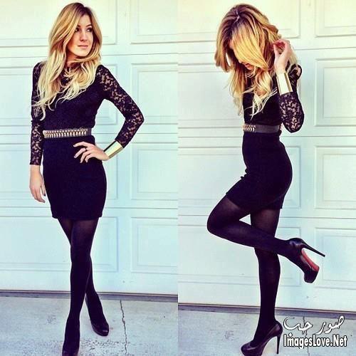 فساتين قصيرة منفوشة اسود Fashion Insta Fashion Simply Fashion