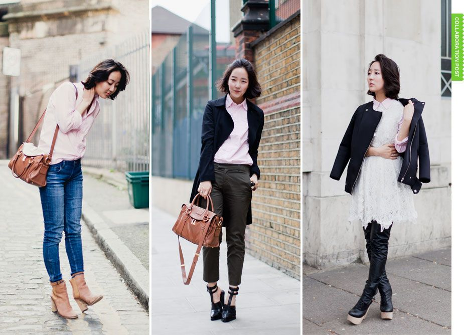 three great Uniqlo outfits from Park & Cube Simple