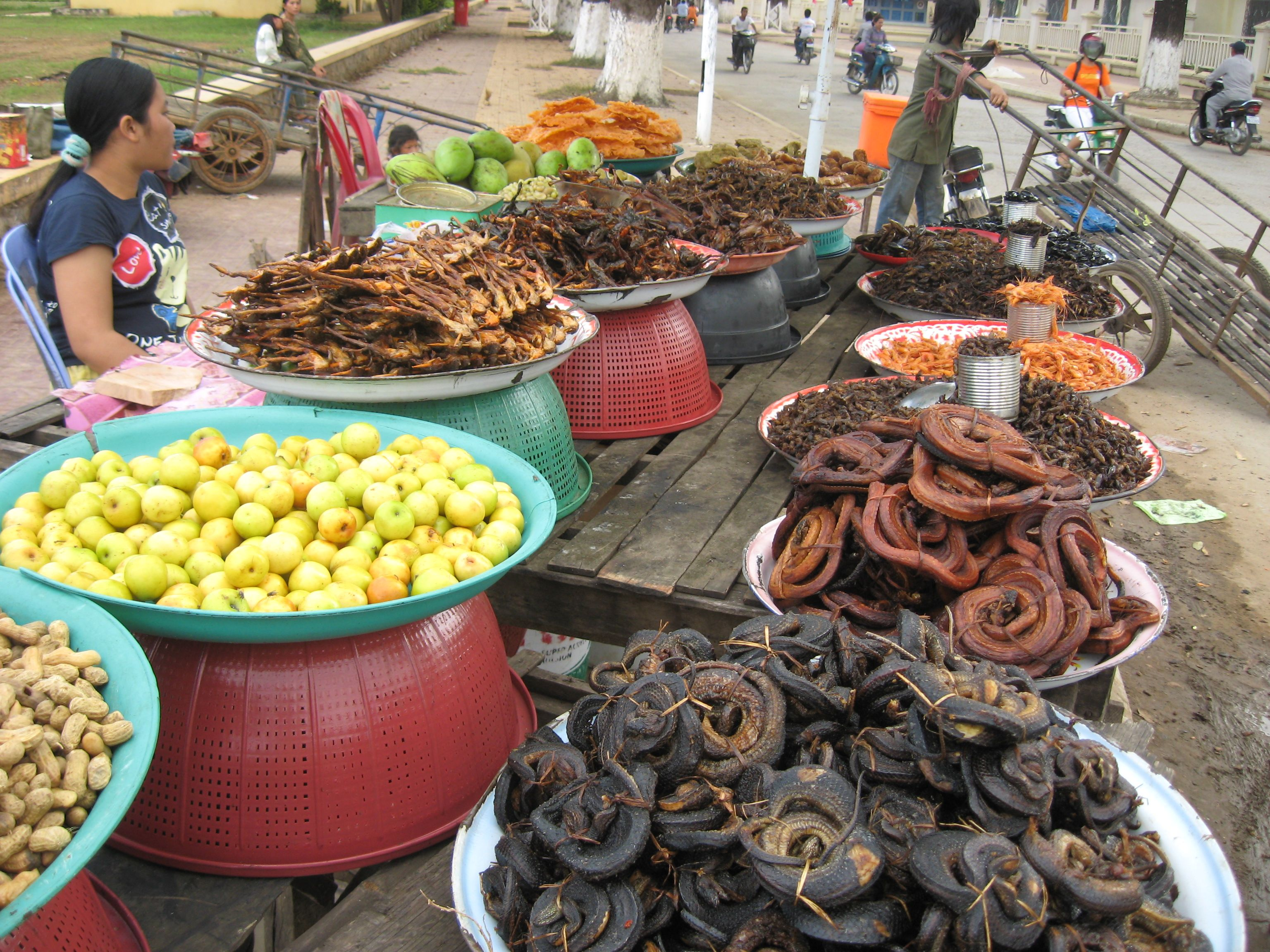 Cambodian street foods | Pinterest