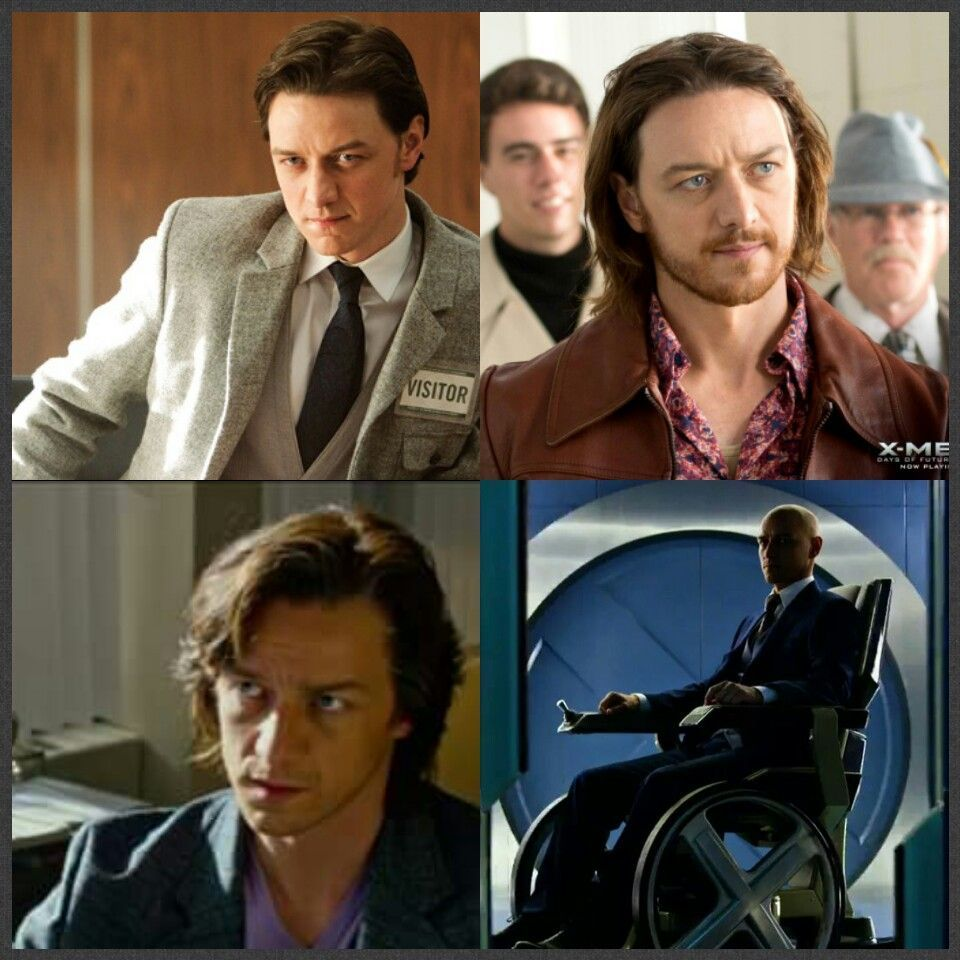 Evolution Of Charles Xavier James Mcavoy In The X Men Movies James Mcavoy Young James Mcavoy Charles Xavier