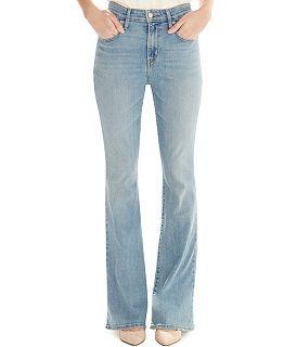 Levi's® High-Rise Flared Jeans, Springtide Indigo - Jeans - Women - Macy's