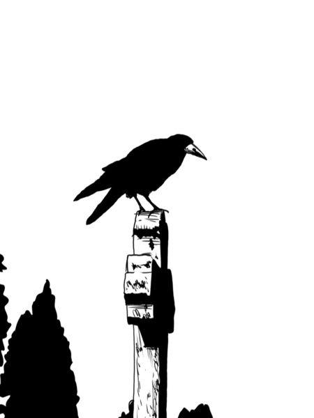 The Raven  by Giuseppe Cristiano