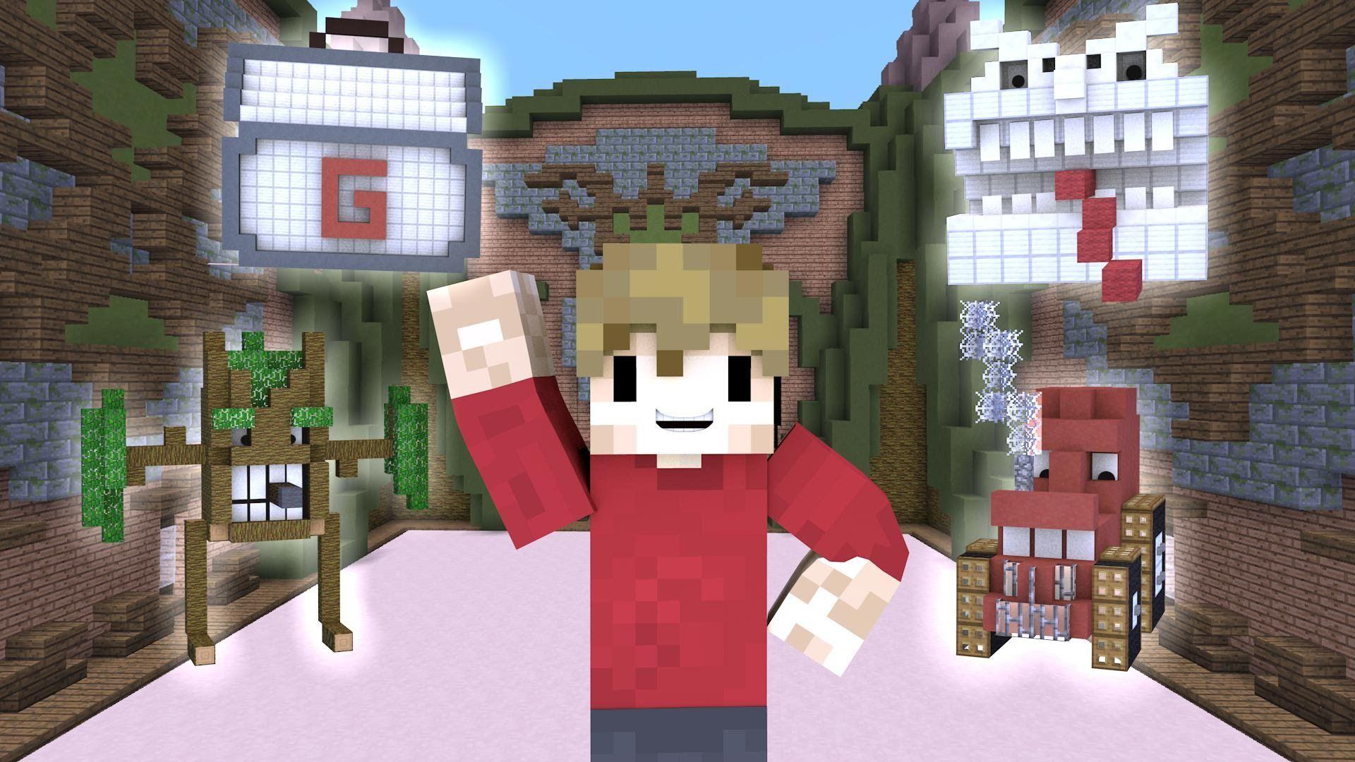 Minecraft Build Battles W Friends Fans Youtube Minecraft