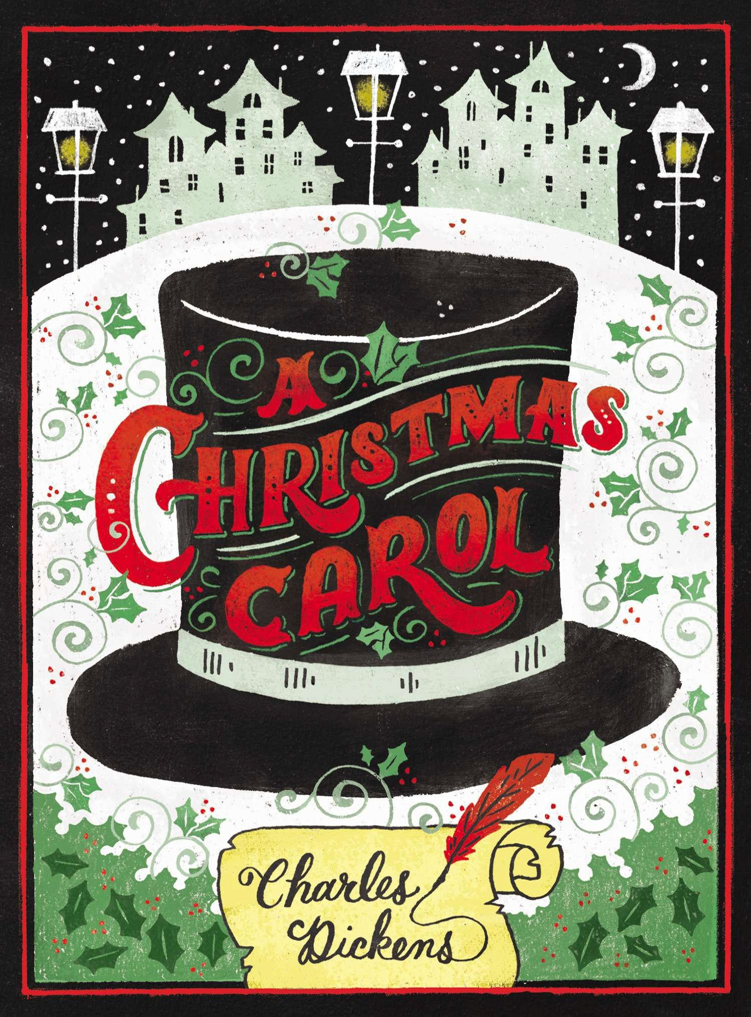 A christmas carol by charles dickens puffin chalk bah humbug christmas traditions fandeluxe Image collections