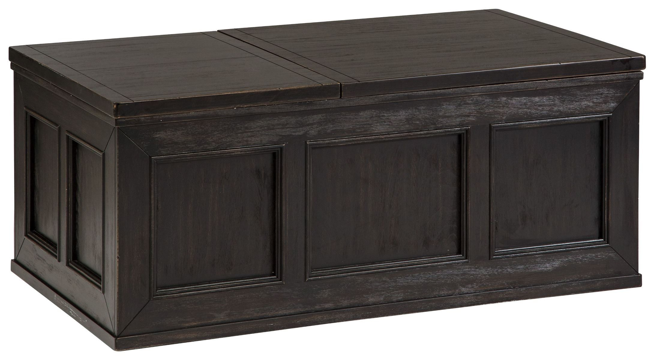 Gavelston Lift Top Cocktail Table Lift Top Coffee Table Signature Design By Ashley Ashley Furniture [ 1199 x 2200 Pixel ]