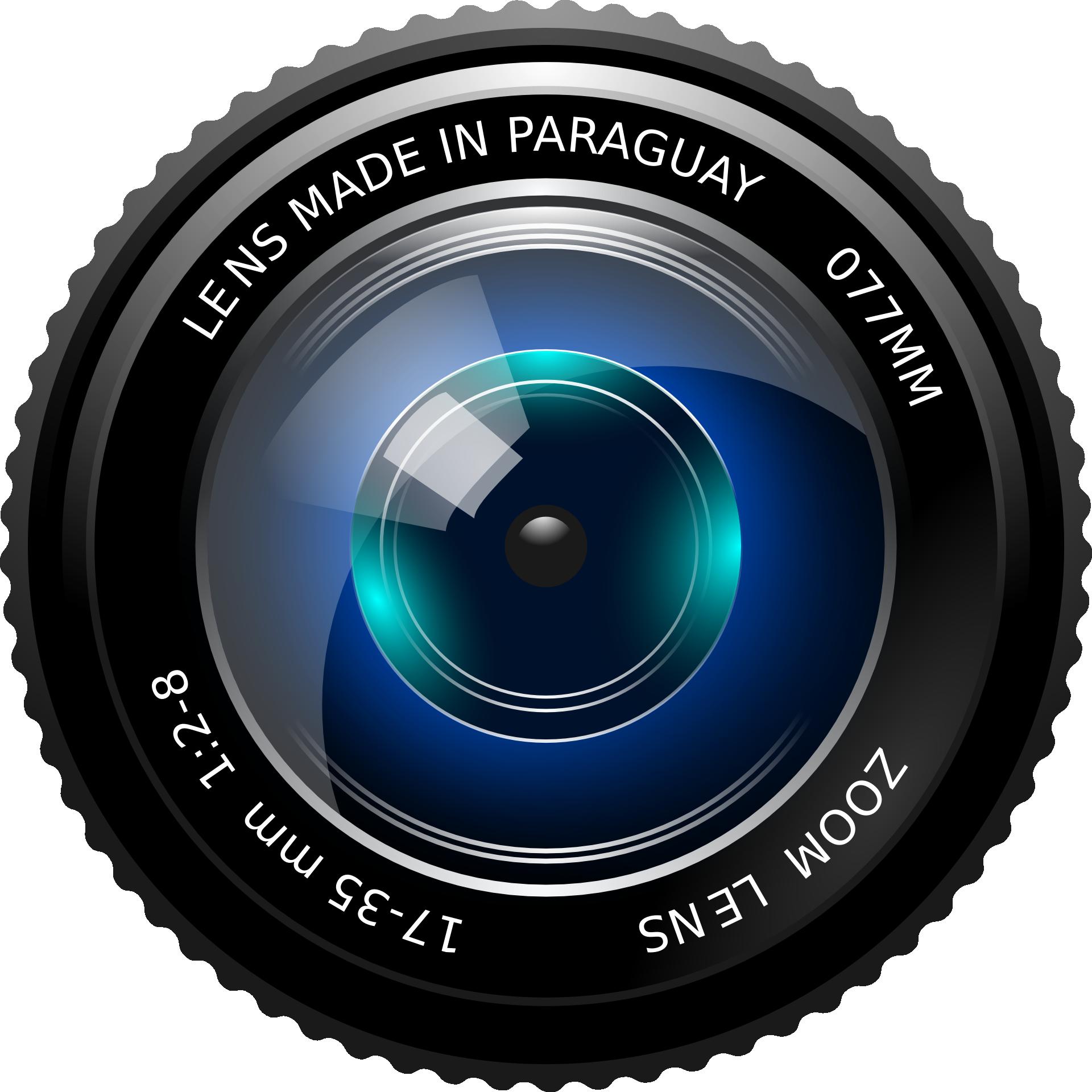 Camera lens image logo 7150 Free Transparent PNG Logos