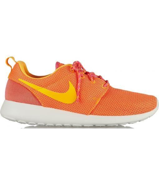 3e28676f154 Roshe Run Mesh Sneakers in coral